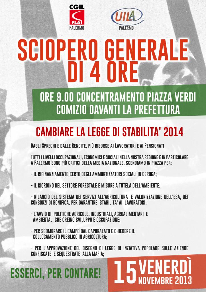 sciopero 15 novembre