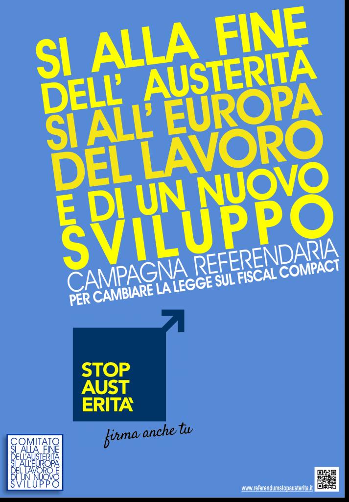 Referendum contro l'austerità | Manifesto
