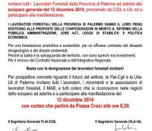 12 dicembre. I motivi dello sciopero generale della Flai Cgil Palermo