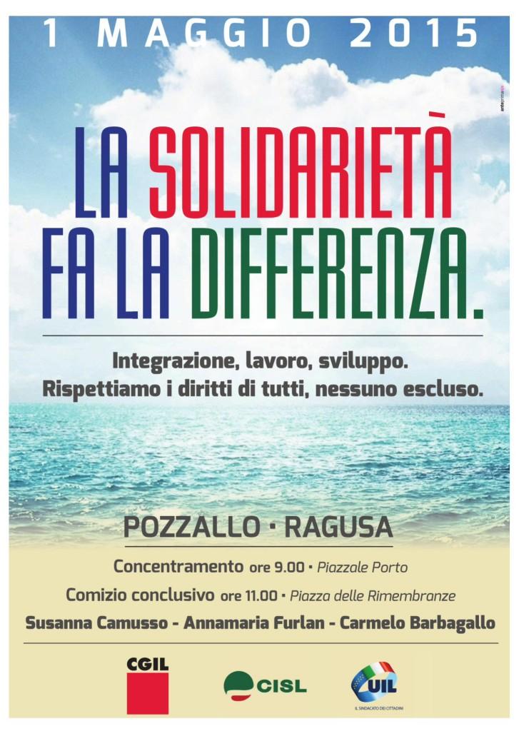 1 maggio a Pozzallo