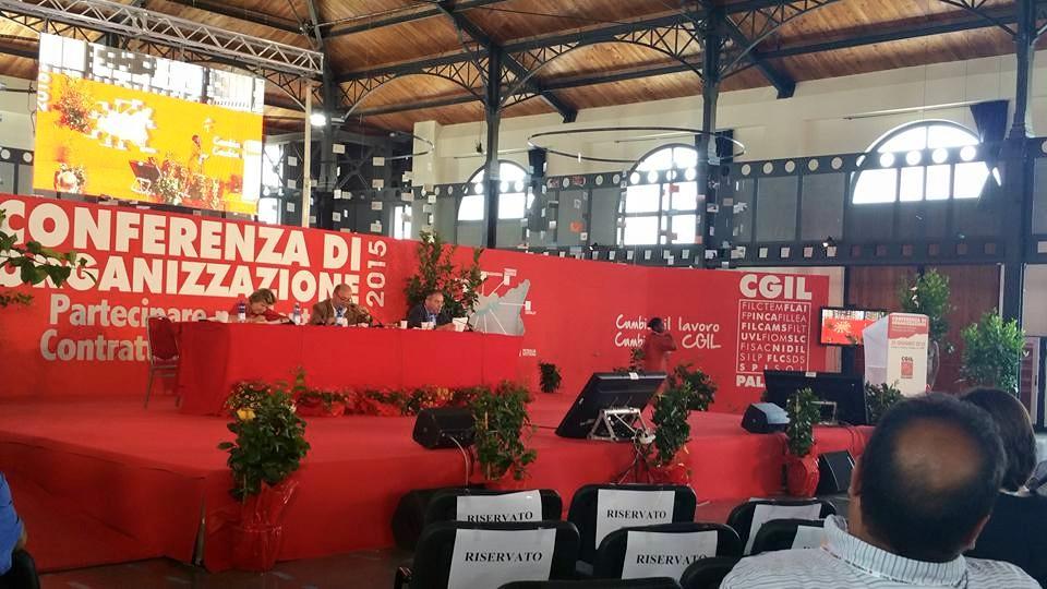 Conferenza Organizzazione Palermo CGIL: intervento di Piero Galli (FLAI)