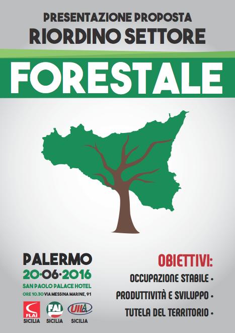 Flai, Fai e Uila: Presentazione Proposta Riordino Settore Forestale