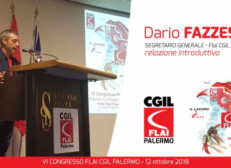 Il racconto del VI Congresso della FLAI CGIL PALERMO